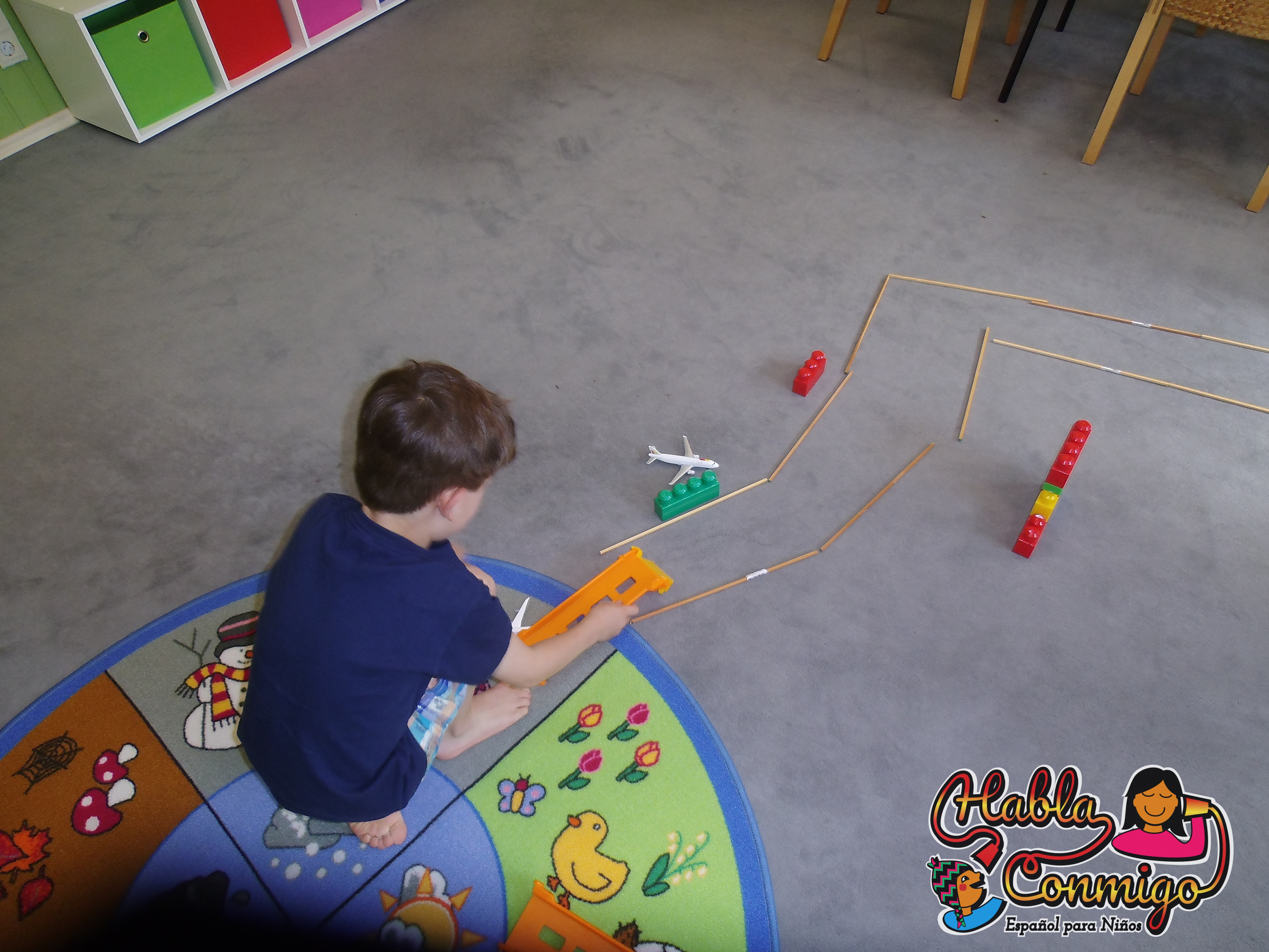 Sala para los talleres culturales para niños en Erlangen