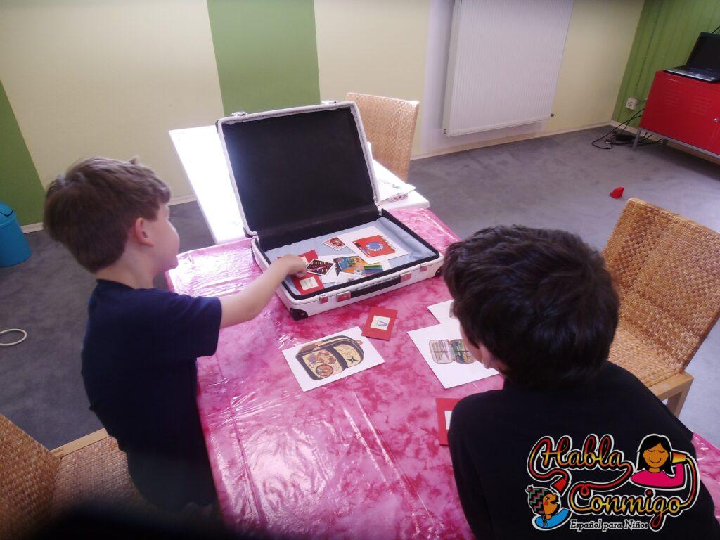 Niños en Clase de Español con Graciela Hurtado Erlangen Habla Conmigo