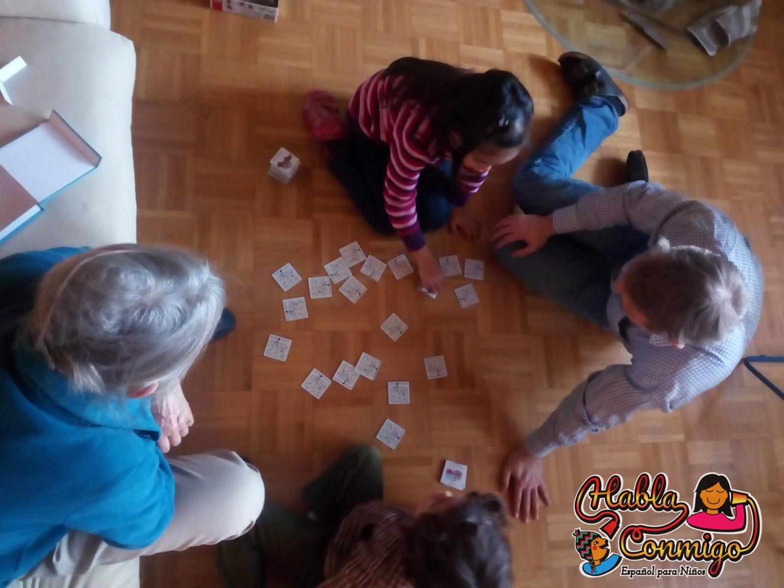 La abuelita francanesa de visita – Bilingüismo en casa
