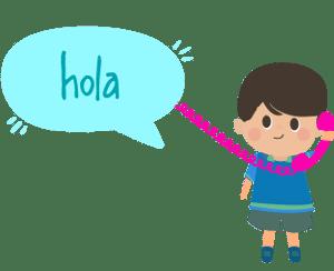 Habla conmigo - Talleres de spañol para niños bilingües